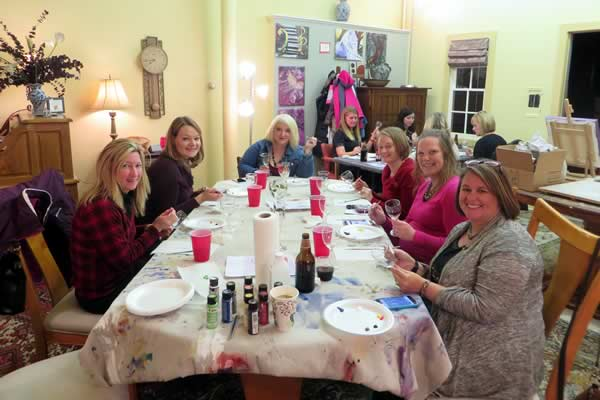Girls Night Out / Wine and Painting Party - Stroke of Genius in Waukesha WI