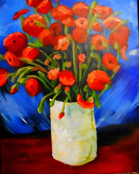 Van Gogh's Poppies painting